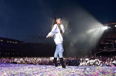 Ariana Grande Says 'Words Don't Suffice' Over Honorary