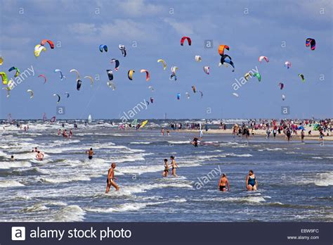 Kitesurf World Cup at the beach of St