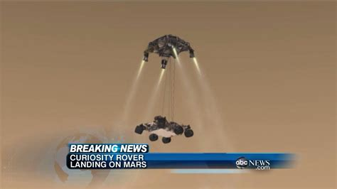 NASA Mars Rover Landing: Curiosity Believed to Have Landed