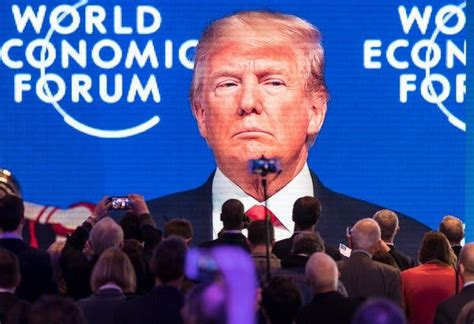 Trump Arrived in Davos as a Party Wrecker