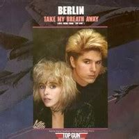 Take My Breath Away by Berlin - Samples, Covers and