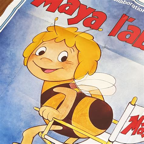 Vintage French Movie Poster Maya the Bee 1979 | | Old is