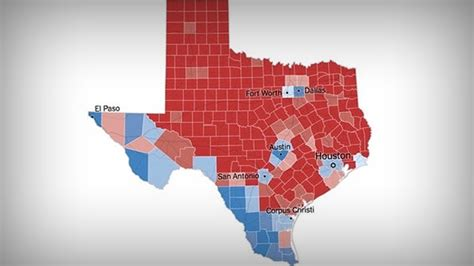 Texas Electoral Map Shows Us What We're Up Against | 105