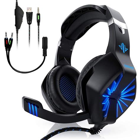 Oddgod A1-BLUE Gaming Headset Stereo Surround Sound Over