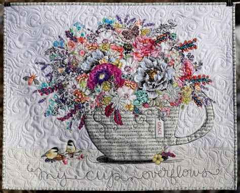 My Cup Overflows Collage ~ Paper Pattern - Marveles Art