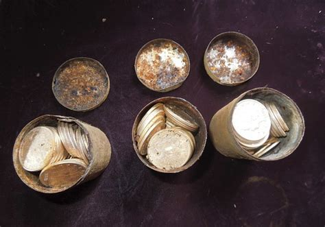 """Gold-coin find """"greatest buried treasure ever unearthed in"""