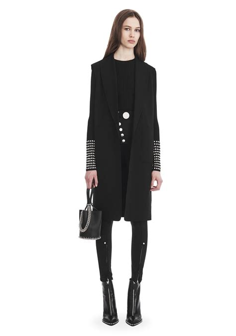 Alexander Wang OVERSIZED LONG VEST  JACKETS AND