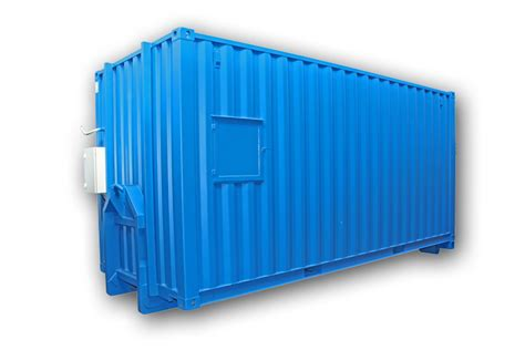 20ft Container med dieseltank - www