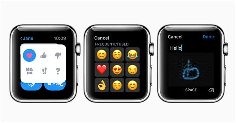 Read and reply to messages with your Apple Watch - Apple