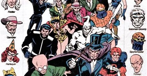 Mayfair DC Heroes Character Database: Injustice Society of