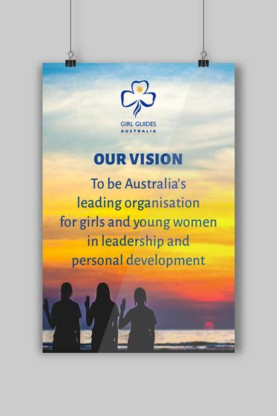 A3 Our Vision Statement Poster – GGQ Guide Supplies