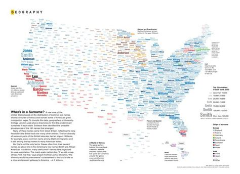 Map: United States of surnames