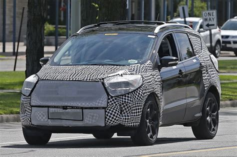2017 Ford Escape (2016 Ford Kuga) Spied, Borrows 2015 Ford