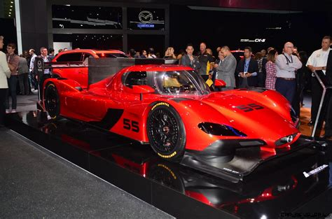 2017 Mazda RT24-P Revealed Ahead of Rolex 24 Hours at