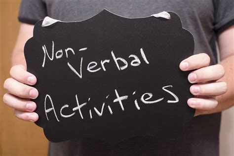 Nonverbal Communication Activities for Adults   Synonym